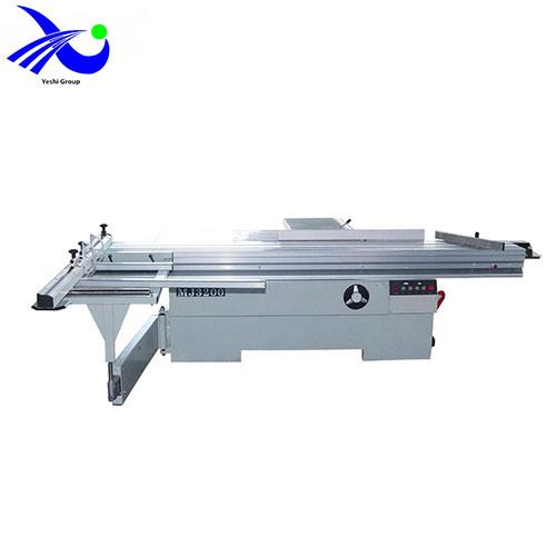 sliding table panel saw wood working machine precision single phase acrylic
